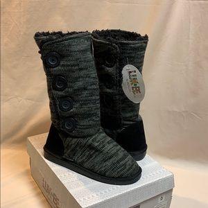 NIB LUK•EES by MUK LUKS Marl Boots